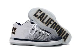 Wholesale Wholesale Animal Print Lace - High Quality Retro 31 Low Men Basketball Shoes Cheap Retros California Michigan Marquette Georgetown 31s Sport Trainer Men