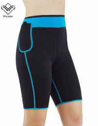 Wholesale Neoprene Slimming Shorts - Wholesale-Anti Cellulite Shorts Neoprene Shorts for Weight Loss Body Shaper Fajas Para Adelgazar Butt Lifter Sports Slimming