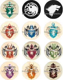 Canada Livraison gratuite GAME OF THRONES Snap bouton breloque bijoux Popper pour Snap Jewelry bonne qualité 12pcs / lot Gl268 fabrication de bijoux cheap game making free Offre