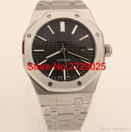Wholesale Mens Offshore Watch - New Mens Watch ROYALOAK OFFSHORE Automatic Movment Mechanical Stainless Steel Luxury Sports Watches Transparent Back Original Clasp