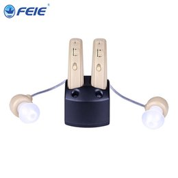 Wholesale 2017 Medical ear hot sale Popular in Spanish audifonos para sordos recargables S S from Guangzhou Feie
