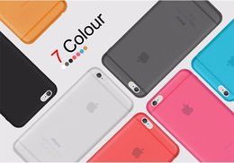 Wholesale Original Iphone For Sale - Original CAFELE Phone cases for iphone 6 Sales Cute Candy colors PP cases for Apple iphone 6 6S 4.7 inch Fashion hard back Case