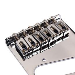Wholesale Chrome Bridge - Chrome Gotoh Modern Telecaster Electric Guitar Saddle Bridge for Fender Tele Replacement