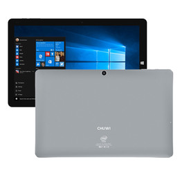 Wholesale Intel Wholesale China - 10.8 inch Tablet PC Chuwi Vi10 Plus Dual Boot Quad Core 2GB 32GB Windows 10 Android PC Intel ATOM X5 Cherry Trail