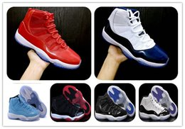 Wholesale Cheap Black Rhinestone Shoes - cheap Retro 11(xi) WIN LIKE 96 Gym Red Basketball shoes Navy Blue WIN LIKE 82 space jam bred Sports Athletics Sneakers footwear