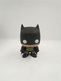 Qiuchany FUNKO POP 01 # Os Vingadores Batman Vinil Bonito Bobble Cabeça Brinquedos Ação PVC Figura Brinquedos Para As Crianças de