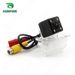 Wholesale Ford Ecosport - CCD Track Car Rear View Camera For Ford Ecosport 2013 2015 Parking Assistance Camera Track Line Night Vision LED Light Waterproof KF-V1150L