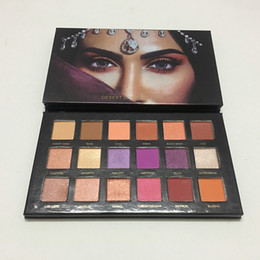 Wholesale Shadow Duck - Beauty DESERT DUST Palettes 18 Colors Hight Quality Shimmer Eye Shadow Palette Cometics Factory Direct desert duck In Stock