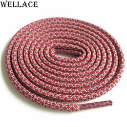 shoe strings Coupons - Wellace 4.5mm diameter hiking running rope laces replacement mens shoelaces kids polyester shoe strings round Ropelaces Kith Style 120cm