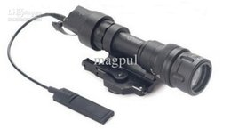 Wholesale Dual Lasers - New QD M952V Dual Output LED Flashlight Black