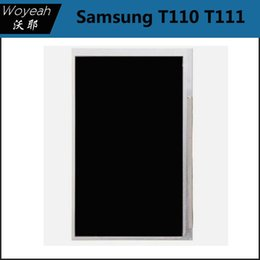 Wholesale Screen Replacement Tab - Samsung Galaxy Tab 3 Lite 7.0 T110 T111 LCD Screen Display Samsung T110 LCD Display Panel Screen Monitor Replacement