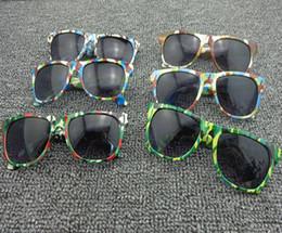 2019 militärbrille gläser Neue Art- und Weisekind-Militärsonnenbrille scherzt Sonnenbrille-Schutzbrillen UV400 Glastarnung Brillen 12pcs / lot Freies Verschiffen günstig militärbrille gläser
