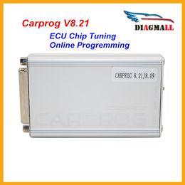 Wholesale Carprog Repair - New Carprog Full V8.21 Firmware Perfect Online Version Car Prog 8.21 Auto Repair Tool Including Much More Authorization DHL Free