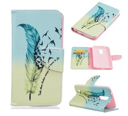 Wholesale Plastic Pouch Designs - Giraffe Cartoon Designs Flip PU Leather Case With Card Slots For LG K4 K5 K7 K8 K10 Stylus 2 LS775 MOTO G4 Plus Samsung J3 Pro Note 7 Note7