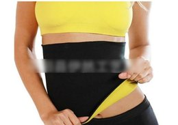 Wholesale Tummy Shaping Belt - Free shipping New Arrivals Body weight loss waist cincher body trainer tummy trimmer neoprene slimming Belt ceinture minceur hot shape KB215