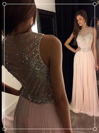 2019 comprimento de chá de vestido floral ruched 2016 Vestidos Chiffon Backless Vestidos de baile de cristal Beading Formal Evening Pageant Dress Vestidos de baile Vestidos no tapete vermelho