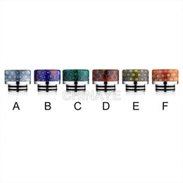 Wholesale Mouth Piece Atomizer - stainless steel drip tips mouthpiece atomizer 810 thread vape e cig resn mouth piece