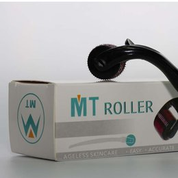 Wholesale microneedle skin roller mts - MT Derma roller with 540 Micro Needles Skin Roller Dermatology Therapy, Microneedle skin Dermaroller Various Size