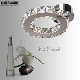 Wholesale Diamond Ring Ceiling Lights - Crystal LED Ceiling Light lustres de sala Diamond Crystal Ring Light LED Lighting Bedroom Lamp used for Ceiling or Wall