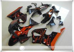 Wholesale Corona Honda - 3 Free gifts New ABS motorcycle Fairing Kit For HONDA CBR900RR 919 1998 1999 CBR919RR 98 99 919 CBR919 Bodywork set orange black corona