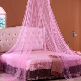 Wholesale Canopy Nets For Baby - Crazycity Baby Mosquito Net Netting Child Toddler Bed Bedroom Crib Canopy Netting 2 Colors For Choose Free Shipping