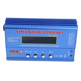 Wholesale rc helicopter battery chargers - Freeshipping Hot IMAX B6 MINI 80W Max Balance Charger Discharger For RC Helicopter Battery Charging Re-peak Mode for NIMH NICD Batteries