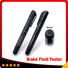 Wholesale Gm Vehicles - 2016 Top selling Brake Fluid Tester 5 LED Car Vehicle Auto Automotive Testing Tool for DOT3 DOT4 Free shipping