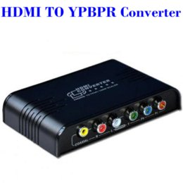 Wholesale Component Output - High Quality HDMI to 1080P Component Video (YPbPr) Scaler Converter Supporting Coaxial Audio Output Cheap quality cd-r
