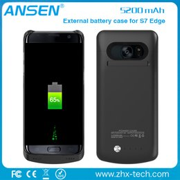 Wholesale Top External Battery Charger - 2017 top selling China supplier battery batteries external wholesale power charger case for samsung galaxy s7 edge