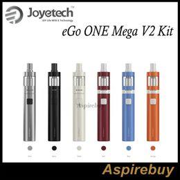 Wholesale Ego V2 Mega - Joyetech eGo One Mega V2 Kit 2300mah Capacity Battery with 4.0ml Liquid Capacity Atomizer Direct and Constant Voltage Output with CL Coils