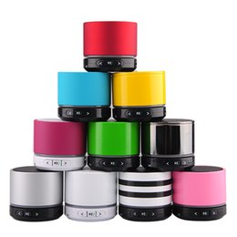 Wholesale Mini Speakers Long - New Arrive Portable S11 Wireless HiFi LED Mini Speaker Strong Bass Long Standby Time Support TF Card For CellPhone
