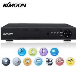 Wholesale Home Security Cctv 16ch - KKMOON 720P Mini AHD DVR 16CH HD CCTV DVR Recorder P2P Phone Remote View For Home or Shop Security Video Surveillance AHD