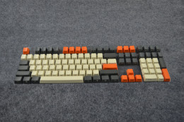 Wholesale Cherry Mx Keys - 104 keys Carbon Keycap set PBT Key Caps for Cherry MX Keyboard