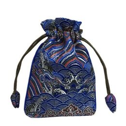 Wholesale Wholesale Party Supply China - 2016 Latest Small Silk brocade Drawstring Pouch High Quality Christmas Gift Packing Bag Birthday Party Favor China Lavender Sachet Bags