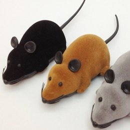 Wholesale wholesale mice rats - Remote Control Electronic Wireless Rat Mouse Cat Pet Tricky Interesting Toy Gift For Kids A Variety Of Colors 9 2ob J R