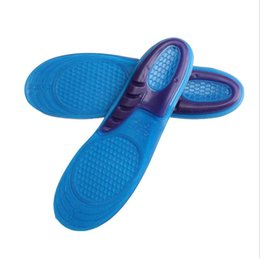 Wholesale Quality Foam - Silicone Gel Insoles Man Women Insoles Orthopedic Massaging Shoe Inserts Shock Absorption Shoepad High Quality