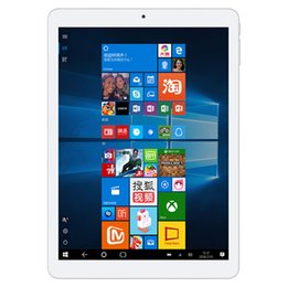 Wholesale Dual Windows Tablet - Original 9.7 inch Teclast X98 Plus II tablets Intel Cherry Trail X5 Windows 10 Home + Android tablet Dual OS 4GB 64GB 8000mAh