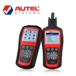 Wholesale Reset Engine Light - Wholesale-Original Autel Autolink AL619 ABS SRS + CAN OBDII Diagnostic Scan Tool Turn off Check Engine Light clears codes resets monitors