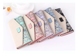 Wholesale Fresh Flower Cards - 60pcs Women Wallets Flowers Printing PU Leather Long Wallets Portable Change Purse Delicate Casual Lady Cash Purse Free Shipping