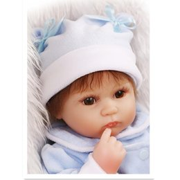 Wholesale Best Realistic Silicone - 15 Inch Real Reborn Babies Best Birthday Wedding Gift for Friends, Silicone Reborn Baby Dolls Realistic Doll Educational Toy