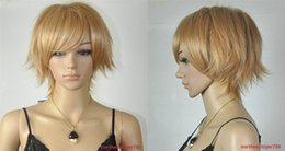 Wholesale Sexy Ladys Fashion - 100% Brand New High Quality Fashion Picture full lace wigs>>Hot Sell Fashion Sexy Short Light Brown Straight Women's Ladys Hair Wig