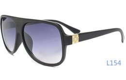 Wholesale Super Big Sunglasses - Wholesale A Quality Women Mens Super Vogue Sunglasses Luxury Brand Designer Por Big Size UV Protect Casual Glasses