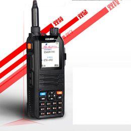 Wholesale Yaesu Vhf Radio - CP2000 ham radio walkie talkie radios uhf vhf dual band transceiver waterproof handheld two way radio cb radio motorola icom yaesu quality
