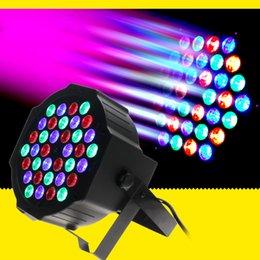 Wholesale Led Light Dmx Dimmer - DMX Led Par 36w RGB LED Stage Par Light Wash Dimming Strobe Lighting Effect Lights for Disco DJ Party Show