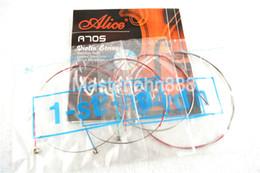 Wholesale Alice Strings - Wholesale- Alice A705 Violin Strings Stainless Steel&Nickel Chromium Wound 1st-4th Strings Free Shippng