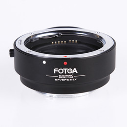 Wholesale Eos Nex Adapter - Auto Focus Electronic AF Canon EOS EF EF-S Lens To Sony NEX E Mount Adapter Ring