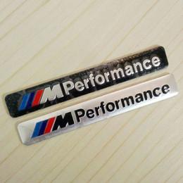 2019 m5 metales Venta al por mayor I M Performance Motorsport Logotipo de metal Etiqueta engomada del coche Emblema de aluminio Placa insignia para BMW E34 E36 E39 E53 E60 E90 F10 F30 M3 M5 M6 m5 metales baratos