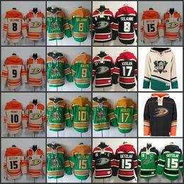 Wholesale paul hoodies - 8 Teemu Selanne 15 Ryan Getzlaf 10 Corey Perry 9 Paul Kariya 17 Ryan Kesler Mens Anaheim Ducks Hoodie Old Time Hockey Hoodies Sweatshirts