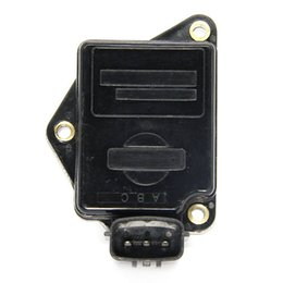 Wholesale Mass Air Flow Sensors - MAF MASS AIR FLOW SENSOR METER FOR Nissan 100NX B13 Primera P10 W10 Sunny 1.4 1.6 2.0 AFH45M46 AFH45M-46 16119-73C00 16119-73C0A