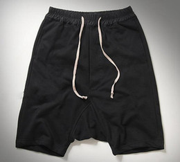 Wholesale Free Minutes - Men's cultivate one's morality personality movement big fork across pants code loose harlan 5 minutes of pants   custom